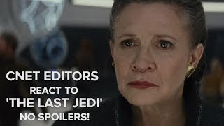 The Last Jedi review:  No Spoilers!