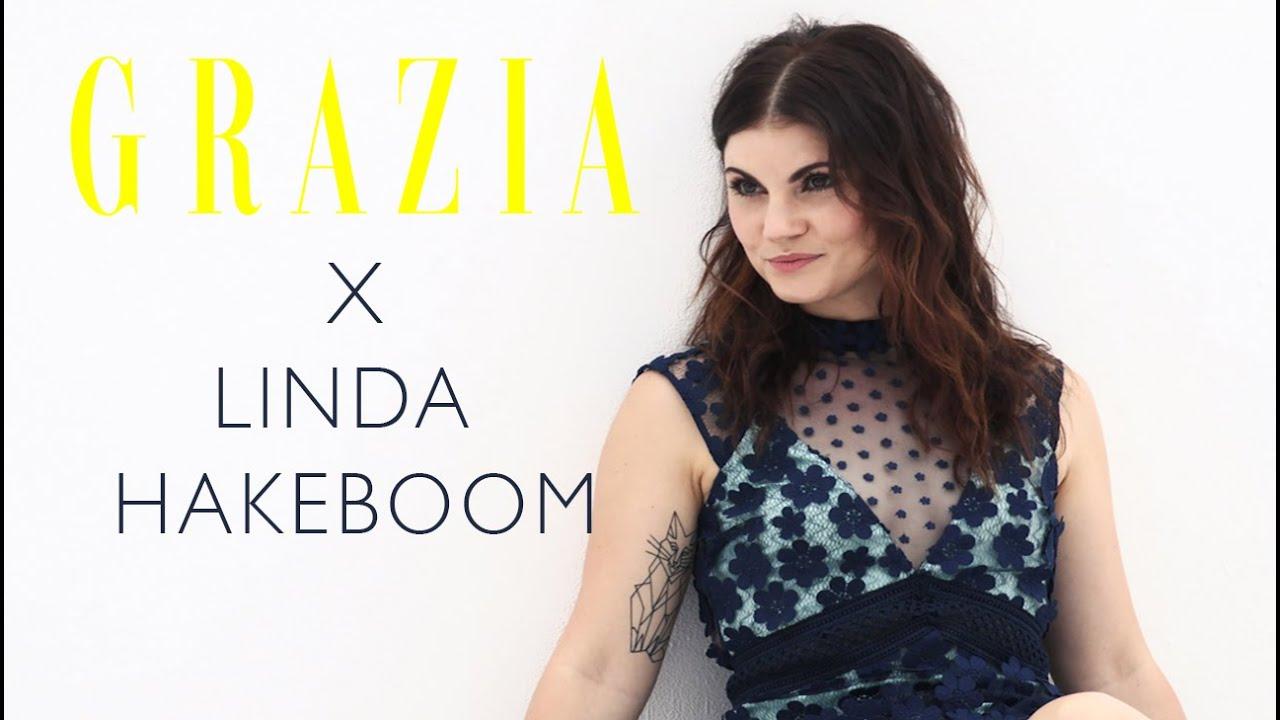 Linda Hakeboom Schittert In Grazia Fotoshoot