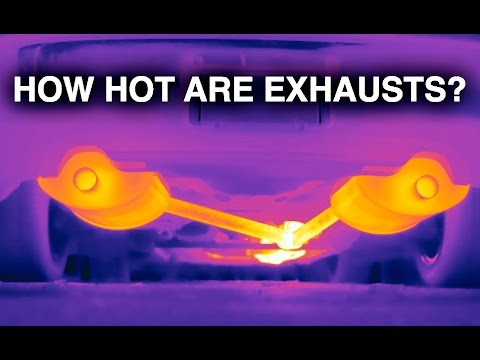 How Hot Does A Car Exhaust Get?  sc 1 st  YouTube & How Hot Does A Car Exhaust Get? - YouTube