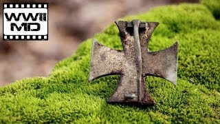 World War II Metal Detecting - Luftwaffe MG15 Machine Gun and Hitlerjugend Relic Hunting (HD)