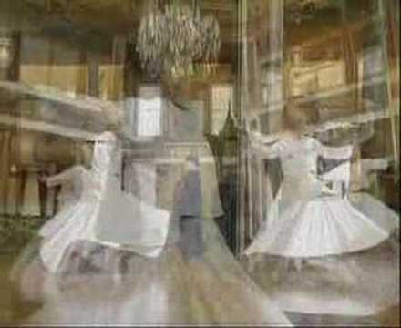 Whirling Sufis in Istanbul
