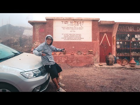 Most Dangerous Road In Morocco? | Tizi n'Test Morocco | Road Trip Ep:10