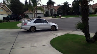 Mom Drives Brutally Loud Straight Piped STI
