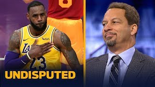 Chris Broussard on if LeBron needs to carry the Lakers' offense in order to win | NBA | UNDISPUTED