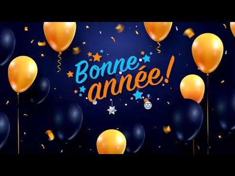 BONNE ANNÉE 2021 ✨ MEILLEURS VOEUX 🌟 NOUVEL AN 2021 - YouTube