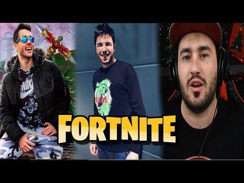 Primera Partida De Los YOUTUBERS Mas Importantes | Fortnite Battle royale