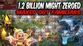 WoG Sugar Titan Destroyed 1.2 Billion Might Maxed Awaken Familiars -  Lords Mobile