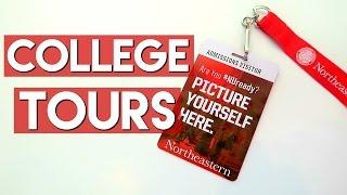 Touring Northeastern University!