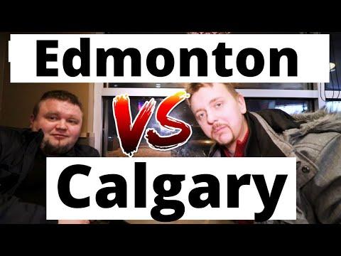 Calgary Vs Edmonton | Best City In Alberta