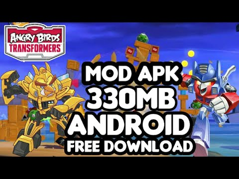 How To Download Angry Birds : Transformers MOD APK (330MB) For Free On Android