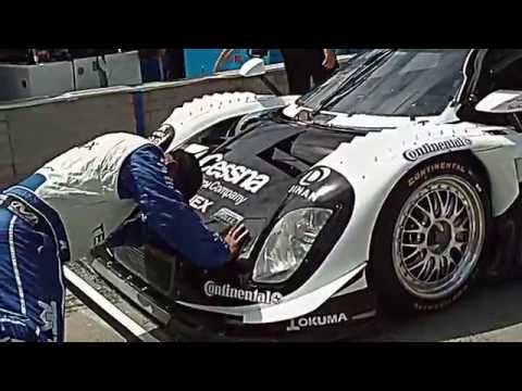 2013 Detroit Grand-Am Rolex Sports Car Series Pit walk