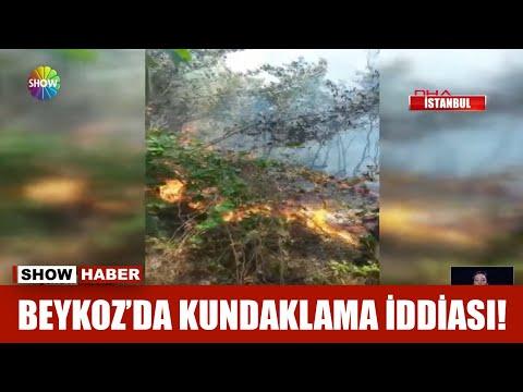 Beykoz'da kundaklama iddiası!