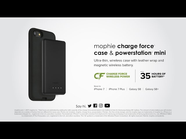 quality design 86769 2cf5d Mophie's cases add wireless charging to iPhone 7 and Galaxy S8