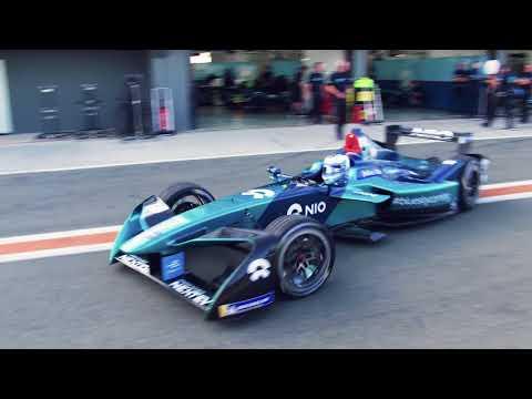 NIO Formula E Team season 4 launch, Valencia, Spain, 2-5 October 2017