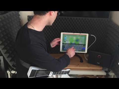 Utiliser le JamStik+ avec des apps amplis / effets Guitare