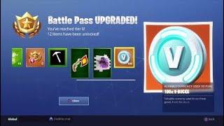 Fortnite Season 6 Intro And Battle Pass Walk Though