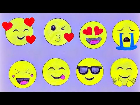 How To Draw Emojis | Easy Step-by-Step Emoji Faces