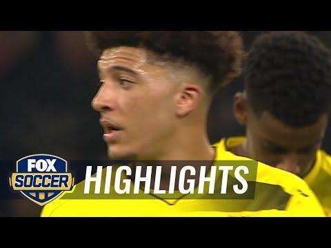 Borussia Dortmund vs. VfL Wolfsburg  201718 Bundesliga Highlights