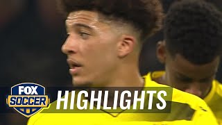 Borussia Dortmund vs. VfL Wolfsburg | 2017-18 Bundesliga Highlights