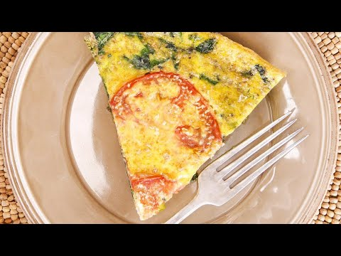Rachael's Spinach and Feta Frittata