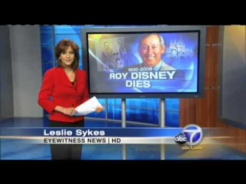 Theme Park Flashbacks: Roy Disney dies