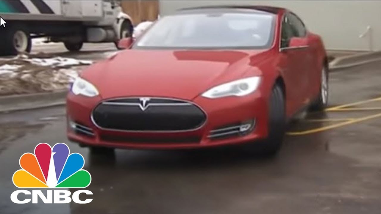 Tesla's Model X Received A Perfect Score For Safety   CNBC ...
