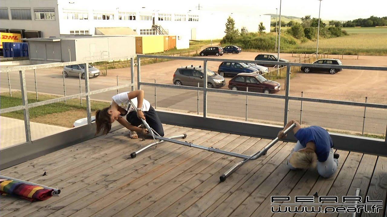 Nc7203 Hamac Pour Balcon Et Terrasse Youtube