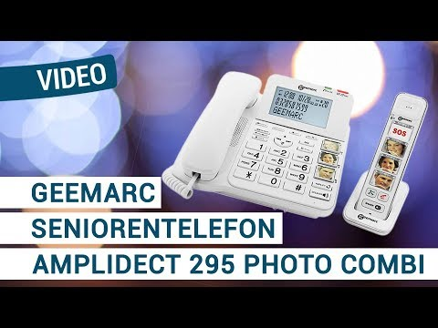 Geemarc Amplidect 295 Photo Combi Seniorentelefon