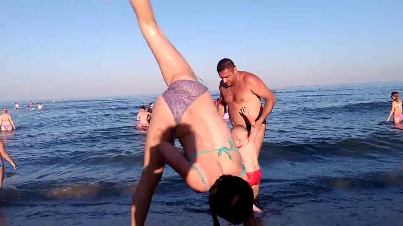 ВЛОГ : МОЯ ГИМНАСТИКА на МОРЕ / Видео Для девочек ПЕРВОЕ ВИДЕО на Море Rest at the sea ХГ
