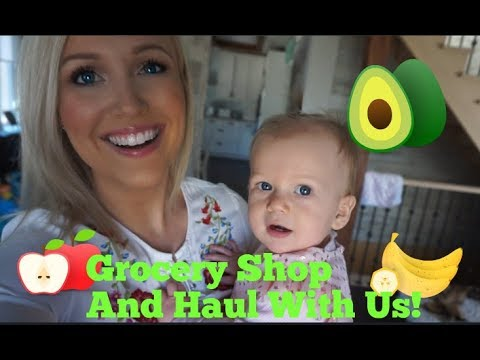 Grocery Shop and Haul! Stay At Home Mom Life!