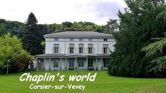 CORSIER-SUR-VEVEY, petite visite à Chaplin's world (Suisse)