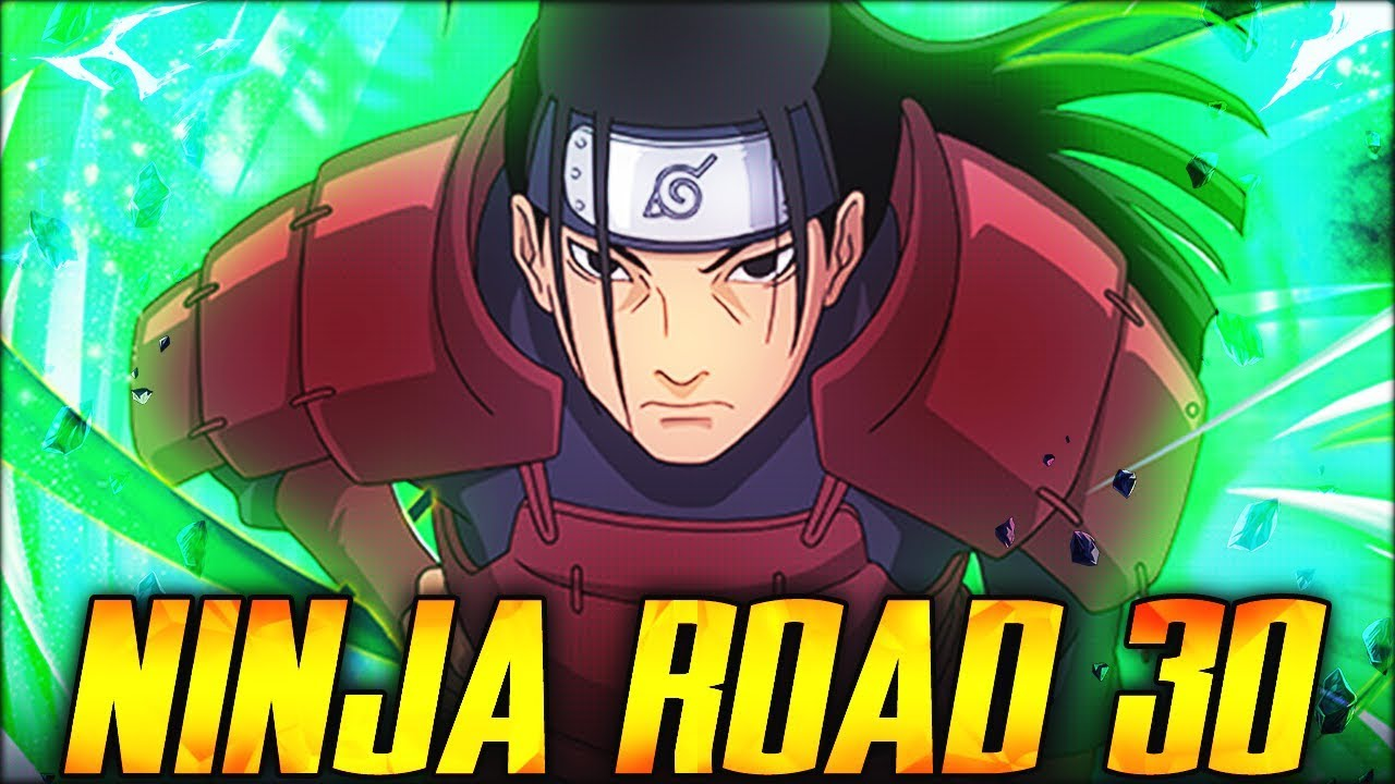 HARDEST NINJA ROAD EVER! HOW TO BEAT NINJA ROAD 30 UNDER 100 TURNS! (Naruto Blazing)