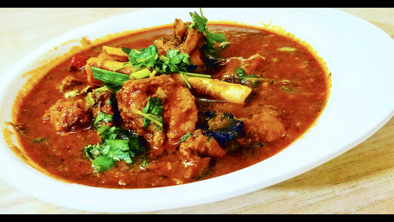 how to cook a mutton curry