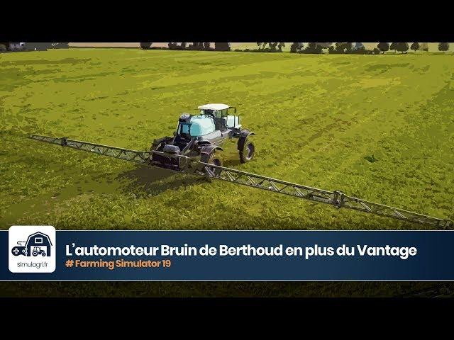 Mods Berthoud dans FS 19 : lautomoteur Bruin au c├┤t├Е du Vantage