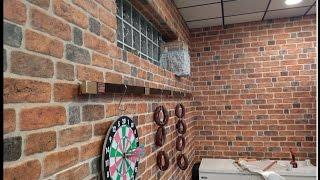 Delle decor Polistyrene brick wall panels