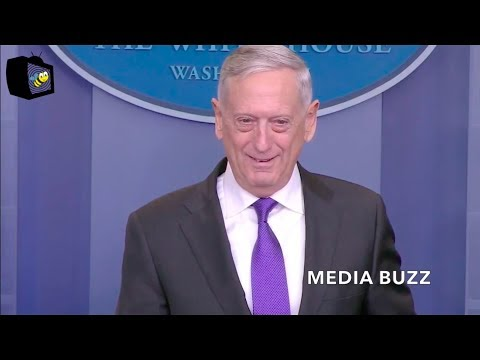 General Mattis White House Press Briefing 2/7/18