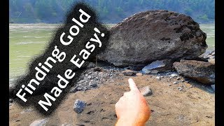 Finding gold made easy! - (Gold panning 2018)
