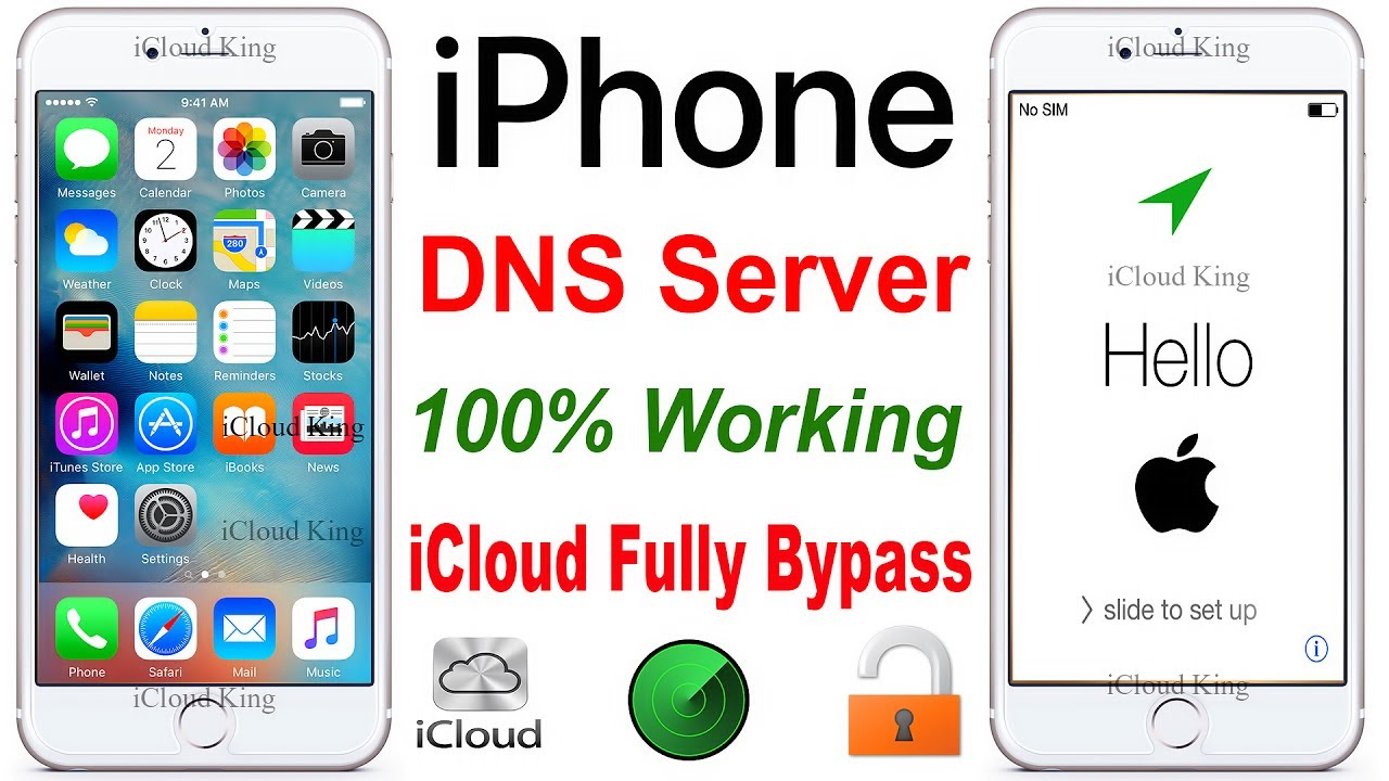 "November'2017 ""DNS-Server"" iCloud activation LocK fully Bypass Fix 100% ✅"