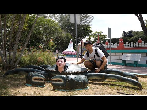 Inside the Most Bizarre Tourist Attraction in Singapore! 🇸🇬Haw Par Villa