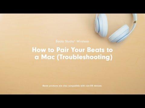 How to pair beats studio wireless headphones to computer