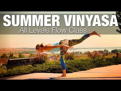Summer Vinyasa All Levels Flow Yoga Class - 60 min - Five Parks Yoga