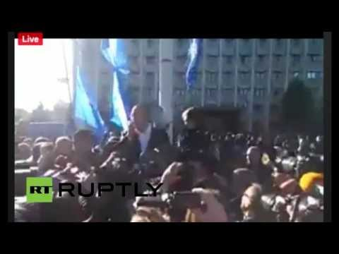 LIVE: Opposition rally in Odessa