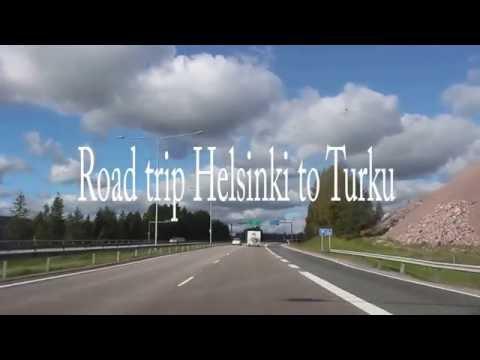 Helsinki to Turku Road Trip
