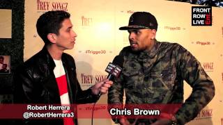 Chris Brown talks Between The Sheets Tour w/ @RobertHerrera3