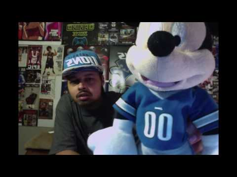 DETROIT LIONS NEWS FROM A LOYAL PRIDE FAN ? ! * WITH MICKEY MOUSE LIONS JERSEY