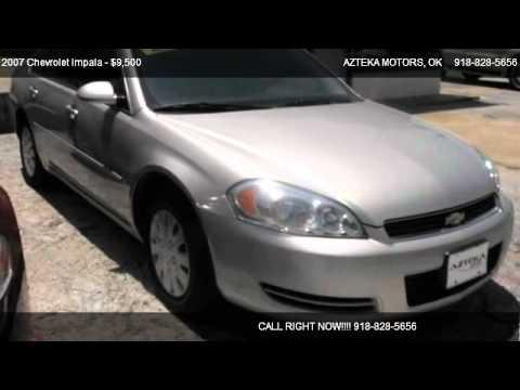 2007 Chevrolet Impala Ls For Sale In Tulsa Ok 74112