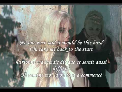 Holly Henry  The Scientist  Lyrics + traduction Française on screen