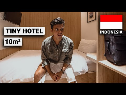 Sleeping in the Smallest Hotel Room in Jakarta