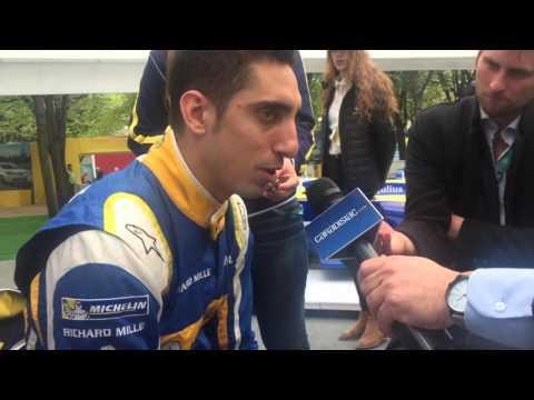 Formule E Paris - Interview de Sebastien Buemi