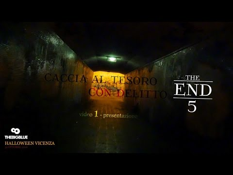 The End 5 - Presentazione Caccia al Tesoro con Delitto - Halloween 2016 Vicenza